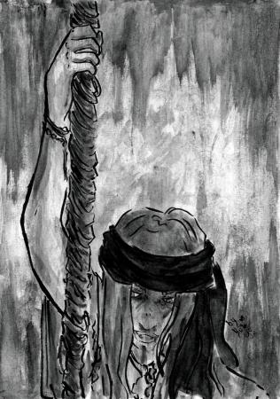 A soul for a sailor. - Skoll Tanigawa (original character)
