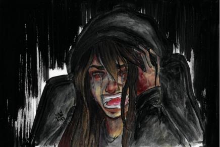 Sorrow. - Keiko Higuchi (Original Character)