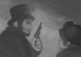 Do you like Oliver Twist? Since I've been a little child I've loved this story. Here's an Illustration of a childhood book which I had to paint in Photoshop at the academy.