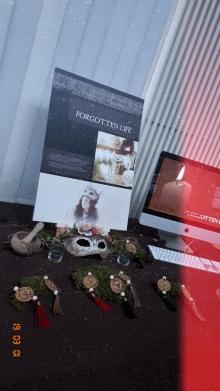 Graduation Exhibition - My table