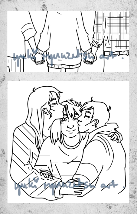 Polyamory - A commission from a friend for a magazine about LGBT